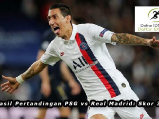 Hasil Pertandingan PSG vs Real Madrid: Skor 3-0